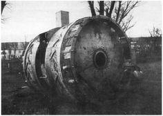 Deutscher Kugelpanzer: Von der Optik her würde dieser frühe Panzerentwurf der...