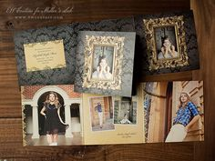 Preppy Findings Senior Collection - Announcements and Skinny RepCards - News & Musings - Photographer Photoshop Templates and Marketing Mat...