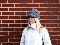 The V Cap Beanie Crochet Pattern6sizesbaby to adult by smeckybits, $4.99
