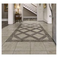 Marazzi Montagna Rustic Stone 18 In X Glazed Porcelain Floor And Wall Tile 1760 Sq Ft Case The Home Depotrustic Laminate Flooring Uk Porcelain Wood Tile, Ceramic Floor Tiles, Wall Tiles, Porcelain Floor, Grey Wood Tile, Wood Tile Floors, Laminate Flooring, Entryway Flooring, Kitchen Flooring