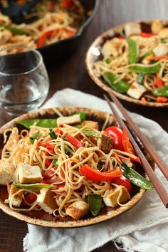 Our vegan version of the takeout favorite features lots of veggies and chewy pan-fried tofu for protein.