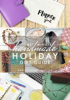 Make it Monday // Last Minute DIY Holiday Gift Guide   We've only got 7 days until Christmas Hanukkah is in full gear and Kwanza is starting soon. Not to mention we've got Yule or the Winter Solstice on the 21st and I'm sure I'm missing other solar & seasonal festivals that are going on around this time of year. Today I wanted to share with you some last minute gifts you can put together for some of the rad gals (and guys) in your life.  this post contains affiliate links please read my full…