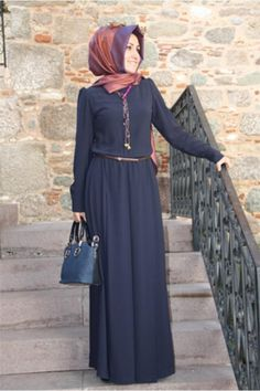 Modest and elegant and she is happy and comfortable.  She feels like a Lady.