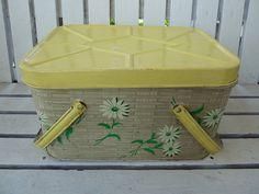 Vintage Picnic Basket by MissConduct*, via Flickr