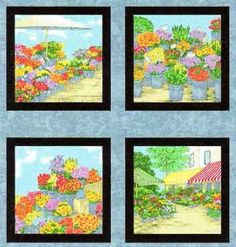 Flower+Market+Craft+Panel,+Fresh+Market+Flowers+by+Andover+Fabrics+at+Creative+Quilt+Kits  Use Code- PINTEREST10 to receive 10% off your order at check out!!