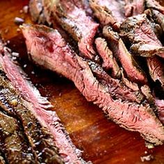 Grilled Marinated Flank Steak (remember to begin early, this needs to marinate for at least 2 hours with honey, soy, red wine vinegar, olive oil, garlic and spices).