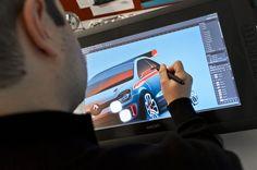 Portrait of C. Wittinger, #designer - Discover the #design birth of #TwinRun concept car. (c) J-C Mounoury - Droits réservés #Renault