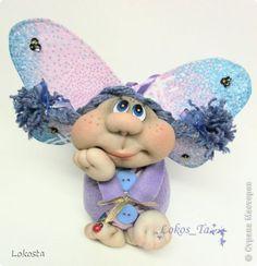 Игрушка Шитьё Кукла Сиренька Капрон Ткань