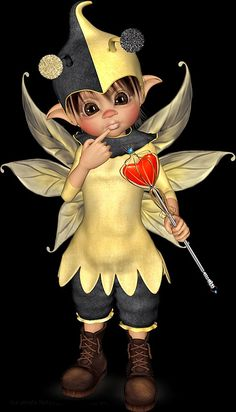Afbeeldingsresultaat voor Knuddelinos by leilana Pretty Dolls, Cute Dolls, Cartoon Pics, Girl Cartoon, Tea Bag Art, Kobold, Elves And Fairies, Beautiful Gif, Little Designs