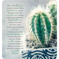 Finnish Words, Boho Beautiful, Powerful Words, Cactus Plants, Wise Words, Poems, Anna, Thoughts, Sayings
