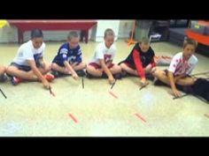 Star-Spangled Banner Stick Circle