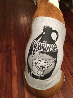 Original Growler Craft Beer Dog shirt