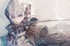 Video Game - Metal Gear Rising: Revengeance  Raiden Short Hair White Hair Fan Art Helmet White Eyes Sword Weapon Wallpaper