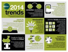 8 temas que devem pautar a comunicação neste ano #Infographic