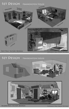Desenvolvimento visual de Frankenweenie | THECAB - The Concept Art Blog
