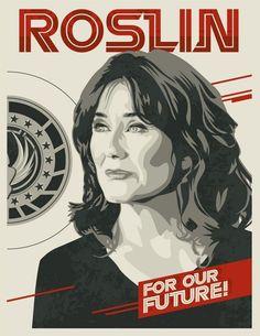 I'd vote for her over any candidate I've seen run in my lifetime Sci Fi Series, Tv Series, Star Trek, Geek Pride Day, Sci Fi Shows, Stargate Atlantis, Battlestar Galactica, Geek Art, Sci Fi Fantasy