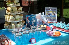Adorable Dr. Seuss Birthday Party with food and activity ideas