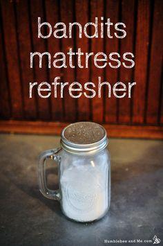 Bandits Mattress & Carpet Freshening Powder Recipe