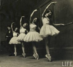 Ballet school, undated.