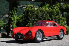 Pictoturo - doyoulikevintage:   1953 Maserati A6GCS Berlinetta...