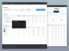 Dribbble - Cardspring Dashboard Overview by Afshin Gholami
