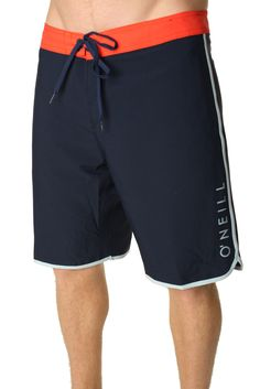 O Neill Men s Santa Cruz Scallop Freak Boardshorts 8e558a67838