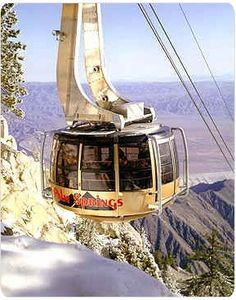 Palm Springs Aeriel Tramway- nice experience and awesome views of Palm Desert and heading into National Forest at 10000 ft