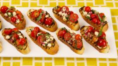 Grilled Panzanella Bites