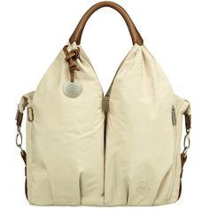 Le sac Glam Signature sable  de la marque Lässig vous permettra de ranger tout le nécessaire de bébé pour vos promenades.