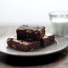 Chocolate Almond Avocado Brownies