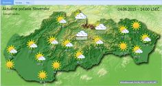 The spa town of Dudince in southern #Slovakia seems to be enjoying the warmth today, hitting 31°C (88°F) at present.