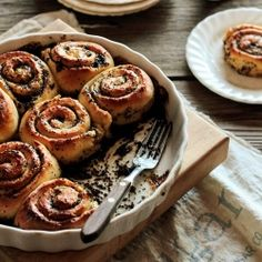 Lemon Poppy Seed Rolls are soft, tender, and lend a bright lemon aroma to a winter morning.