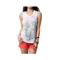 2013 Fox Racing Roll Out Casual Motocross Adult Apparel Sleeveless Tank Top