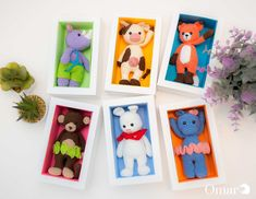 Awesome SVGs: Colorful Gift Box - Amigurumi Packaging