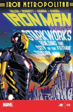 Iron Man Vol. 5 #18  Tony Stark has returned from space with a vision of a better world. Who is his secret ally? What is his secret resource? Who on Earth would stop him? The Mandarin is dead..