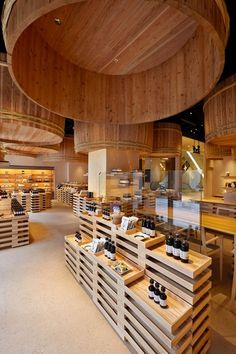 Kayanoya originates in Kuhara Shoyu , Kyushu, a soy sauce manufacturer whose history dates back more than 120 years. The Kayanoya Shop in Nihonbashi is a reproduction of their traditional warehouse which we visited in Kyushu. Shoyu wooden barrels...