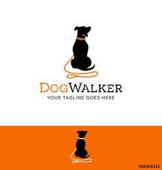 logo design for dog walking, training or dog related business ...