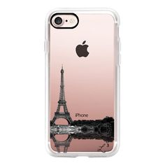 Take Me To Paris Reflection - Travel - iPhone 7 Case, iPhone 7 Plus... found on Polyvore featuring accessories, tech accessories, phone case, iphone case, iphone cases, slim iphone case and apple iphone cases
