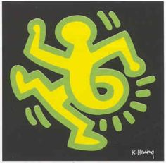Keith Haring Amazing Artwork, Cool Artwork, Keith Allen, Kenny Scharf, Keith Haring Art, Classical Realism, 5th Grade Art, Weird Art, Land Art