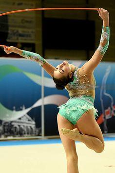 "Pin from ""Awen Bree"" : Carmen Crescenzi (Italy), Serie A (Italy) 2015 Acrobatic Gymnastics, Rhythmic Gymnastics Leotards, Female Reference, World Of Sports, Sports Women, Ballet Dance, Flexibility, Fitness, Most Beautiful"