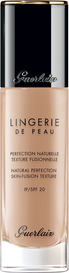 Flawless looking foundation - GUERLAIN Lingerie de Peau Natural Perfection - Skin-Fusion Texture SPF20