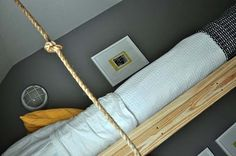 Three Kids In A Room?? Try A Trio of Hanging Beds... - Design Dazzle
