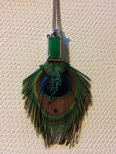 Single Peacock Eye Pendant with Faux Gem & Long Chain! Peacock And Peahen, Peacock Tail, Peacock Jewelry, Feather Jewelry, Swap Shop, Pendant Jewelry, Pendant Necklace, Hill Park, Beacon Hill