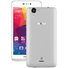 Blu D0010Uuwt Dash X Lte Unlocked Phone (White)
