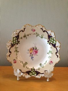 Vintage Royal Crown Derby Plate by NorthernCousin on Etsy