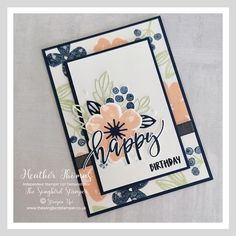 Fun Fold Cards, Folded Cards, Cute Cards, Homemade Birthday Cards, Homemade Cards, Card Making Inspiration, Making Ideas, Karten Diy, Stamping Up Cards