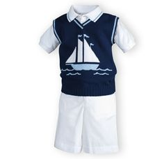 A casual idea for Samuel's baptism or just for church