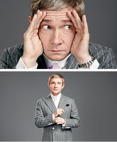 Martin Freeman being his adorable sassy self.