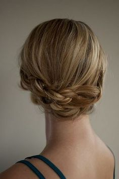 Hair Tutorials : Pretty braid updo / Braids #hair
