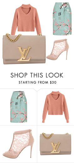 """""""100 %fashion"""" by flower-14934012851 on Polyvore featuring beauty, Dolce&Gabbana and Louis Vuitton"""